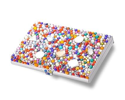 Hueco con cristales de color funda rígida con diseño ...