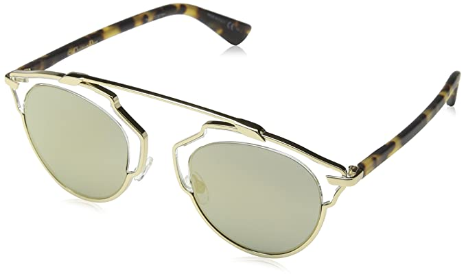 ee8acf48de Christian Dior Diorsoreal Mv Yn1 48 Montures de lunettes Or (Havana Brze)