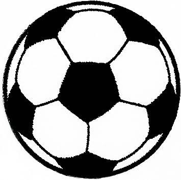 Parche de Rabana para niños, diseño de balón de fútbol, color ...