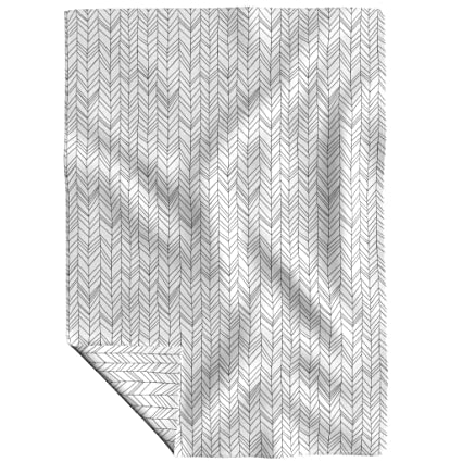 a4997bd250 Image Unavailable. Image not available for. Color  Roostery Chevron Fleece  Throw ...