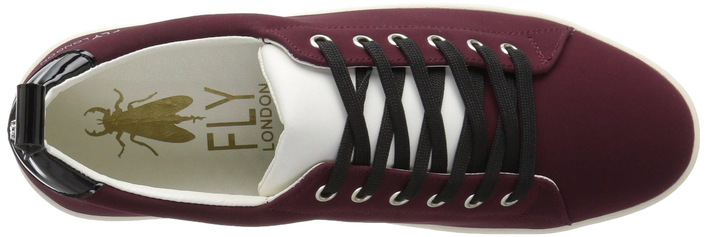 FLY London Women's MACO833FLY Sneaker, Bordeaux/Black Nubuck/Patent, 37 M EU (6.5-7 US) by FLY London (Image #8)