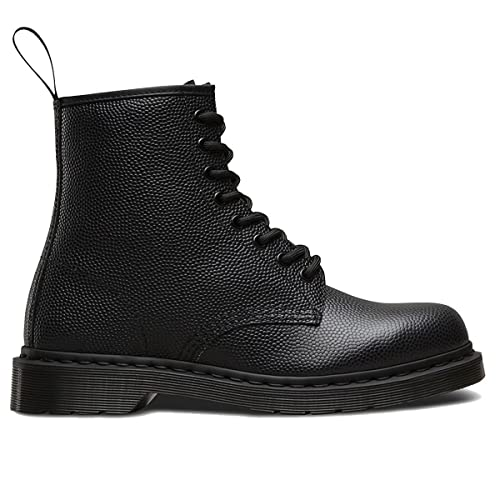 58b990ed04018 Dr.Martens Womens 1460 8 Eyelet Pebble Black Leather Boots 41 EU