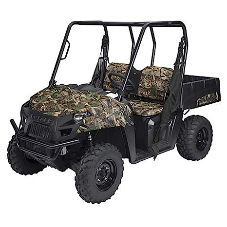 Polaris Ranger Diesel >> Amazon Com Utv Bench Seat Cover Black 2012 Polaris Ranger
