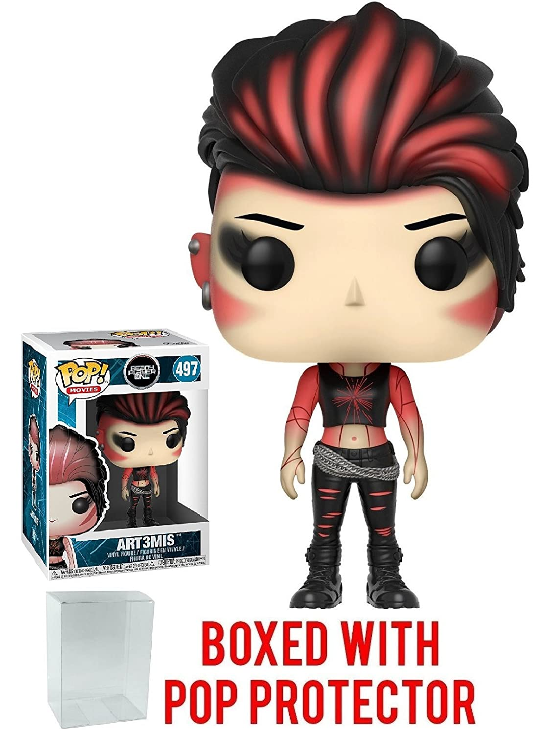 Bundled with Pop Box Protector Case Movies: Ready Player One Funko Pop Art3mis Vinyl Figure