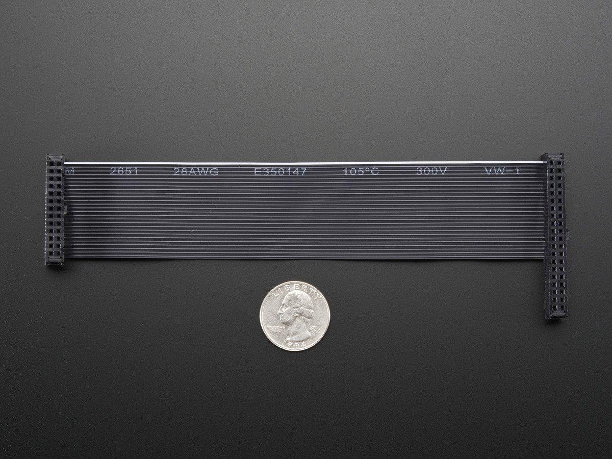 ADA1986 Adafruit Downgrade GPIO Ribbon Cable for Pi A+//B+//Pi 2//Pi 3-40p to 26p
