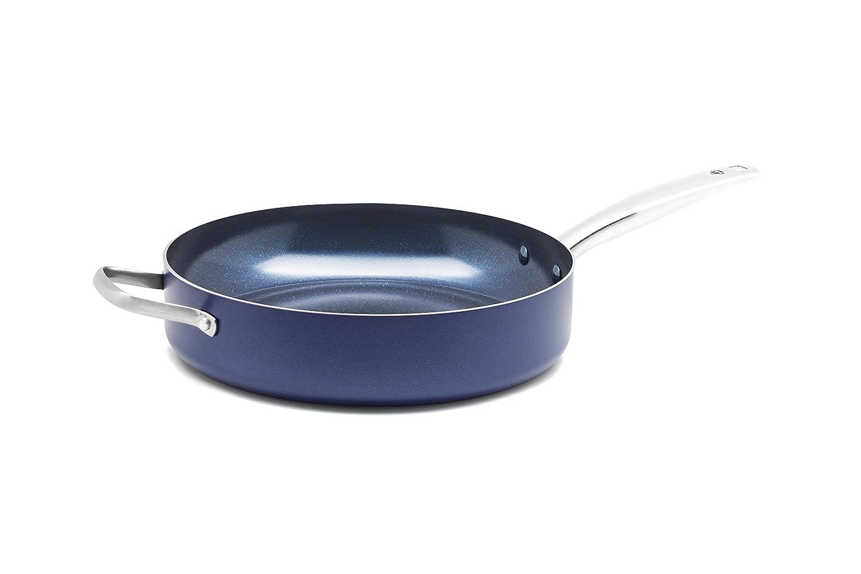 Blue Diamond CC01811-001 Toxin Free Ceramic Metal Utensil Dishwasher 5 Quart Blue