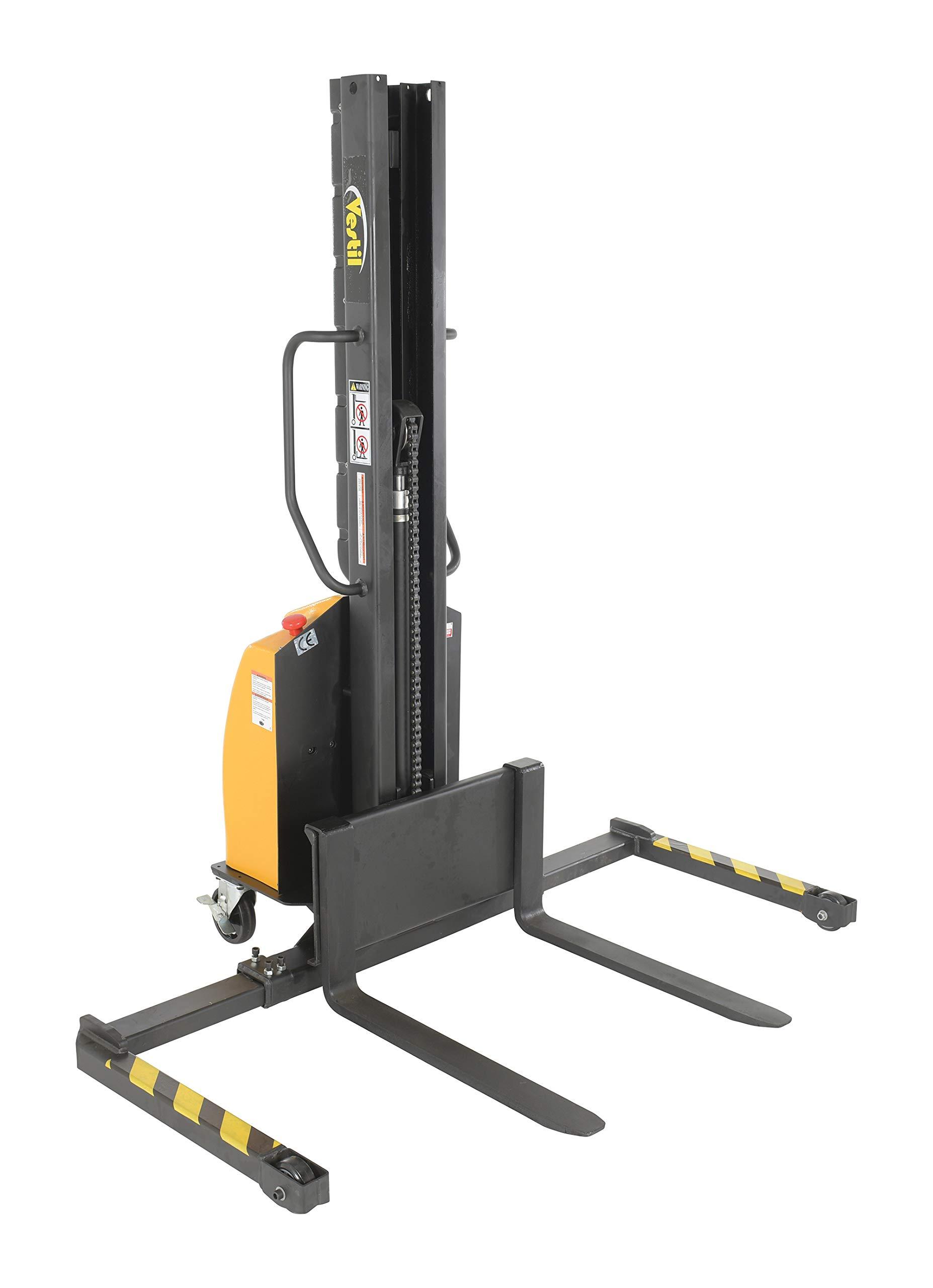 Vestil SLNM-63-AA Stacker Power Lift Adjustable