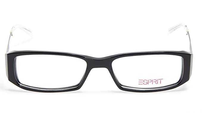 0cfee4844e Amazon.com  NEW ESPRIT ET9382 COLOR-538 BLACK EYEGLASSES GLASSES ...
