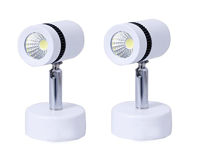 Glitz Led Spot Light Set Of 2, Warm White 3000K, 3 Watt