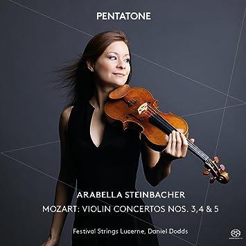 Violin Cons 3 4 & 5
