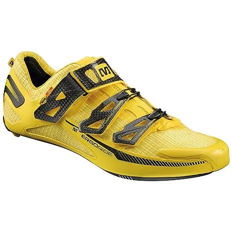 Zapatillas para bicicleta de carretera Mavic Huez amarillo para 2015, color, talla 40