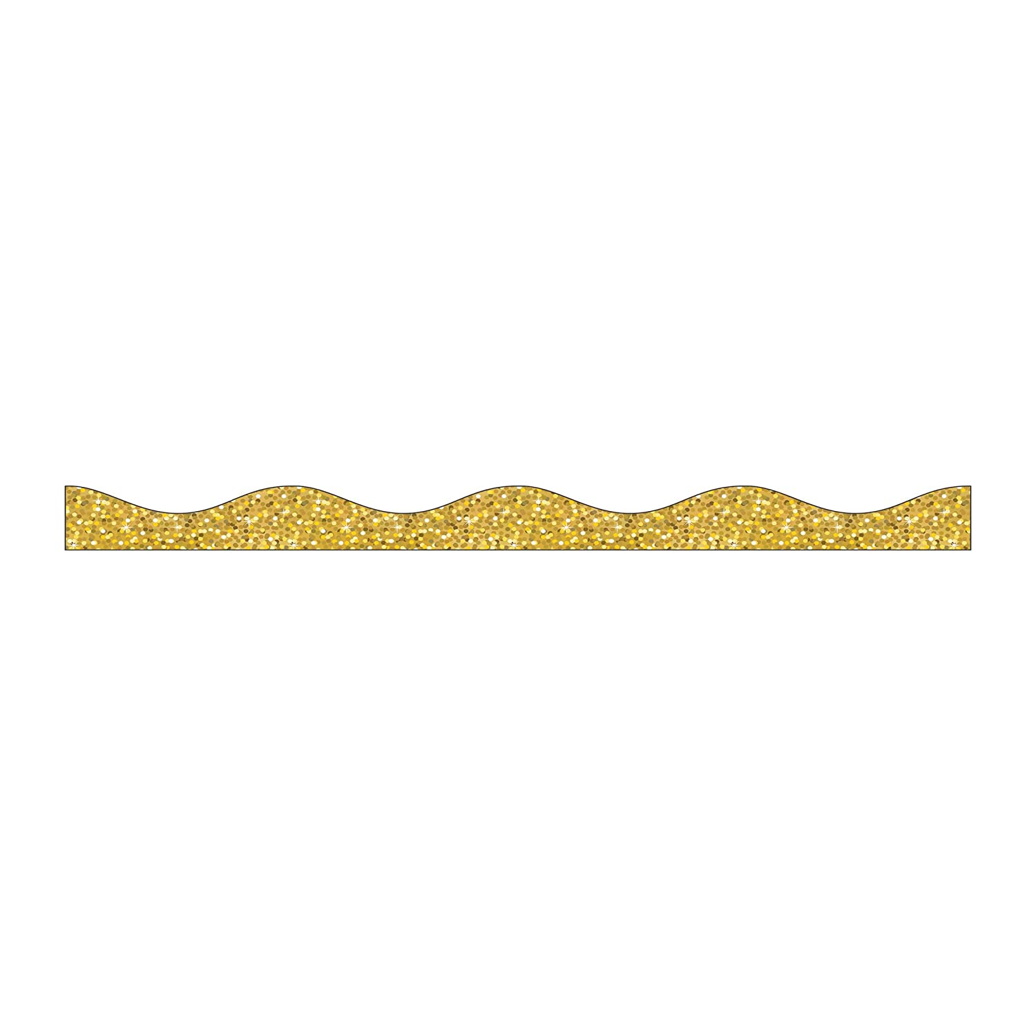 Ashley Productions Sparkle Big Magnetic Border, Gold