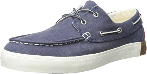 Details about Timberland Womens Newport Bay Oxford Canvas Boat Shoe Size 8.5