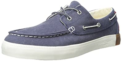 Timberland Men's Newport Bay 2-Eye Boat Shoe, Navy Washed, ...