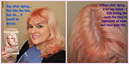 Amazon.com : L'Oreal Paris Hair Color Feria Pastels, P2 Rosy Blush