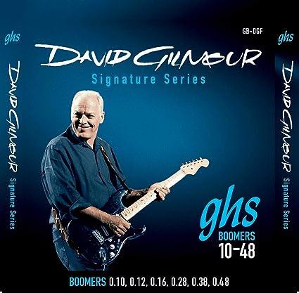 GHS GB-DGF Boomers David Gilmour - Juego de cuerdas para guitarra ...