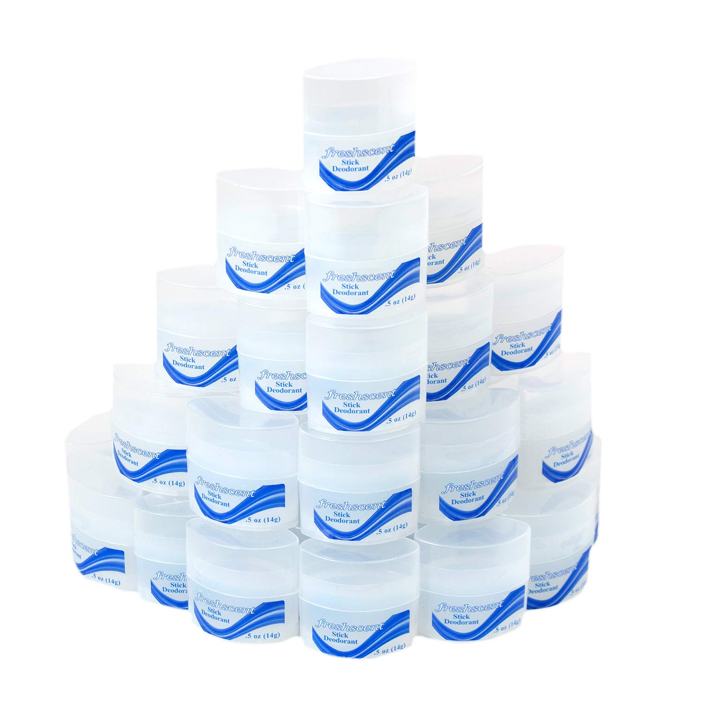 576 Pieces - Wholesale Freshscent .5 oz Deodorant Stick - Bulk Case Travel Size Toiletries