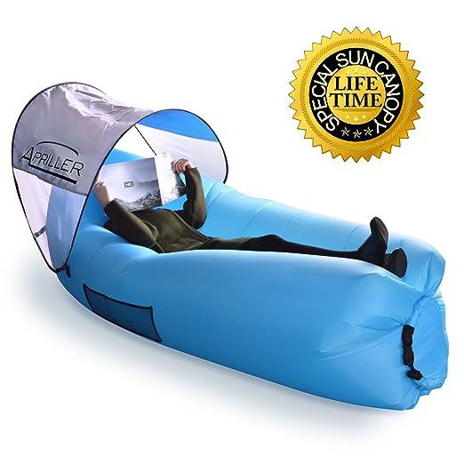 Aire dormir sofá cama sofá silla, globos llenos de aire bolsa ...