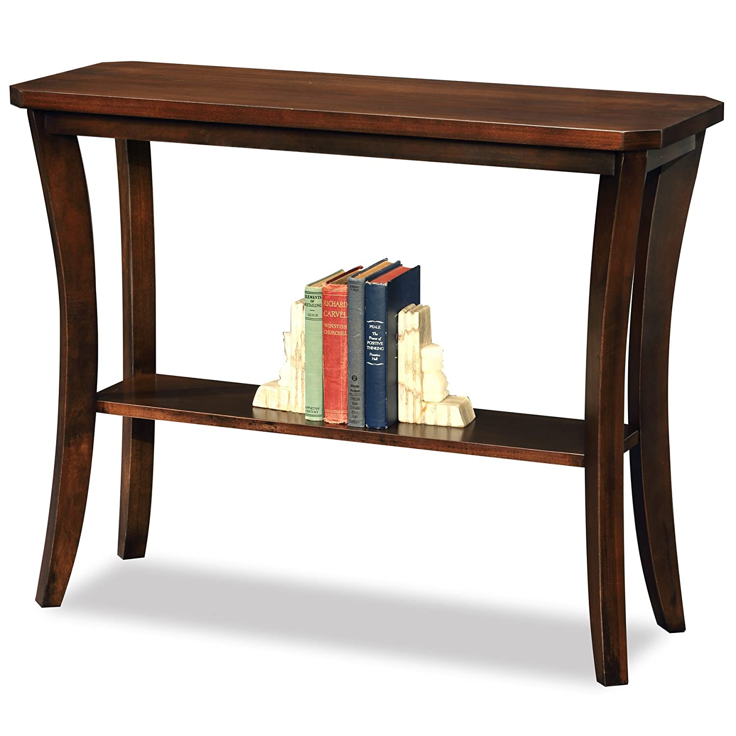 Amazon Com Leick Furniture Boa Collection Solid Wood Hall Console