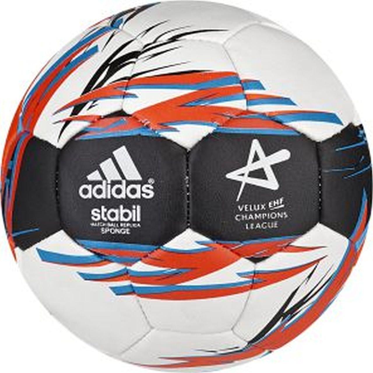 Adidas Stabil ESPONJA, blanco / Azul/Negro