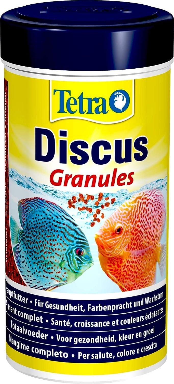 Tetra Discus (especialmente a la nutrición necesidades de peces de Diskus adaptados Principal Forro en forma de granulado), diferentes tamaños