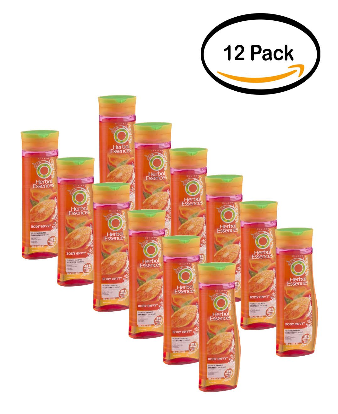 PACK OF 12 - Herbal Essences Body Envy Volumizing Shampoo, 10.1 fl oz by Herbal Essences