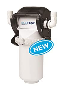 EcoPure Salt-Free Water Softener/Whole Home Filtration System (EPAWCS) | Reduce Scale, Chlorine & Sediment from Hard Water | Carbon + Phosphate Filter | NSF Certified | 6- Month Filter Life
