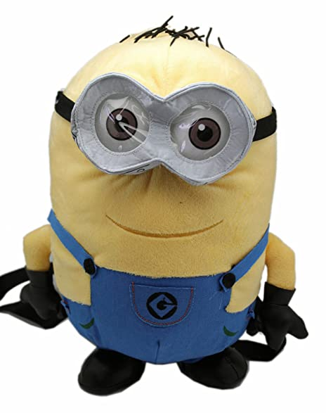Despicable Me 2 Bob The Minion Plush Backpack (13in)