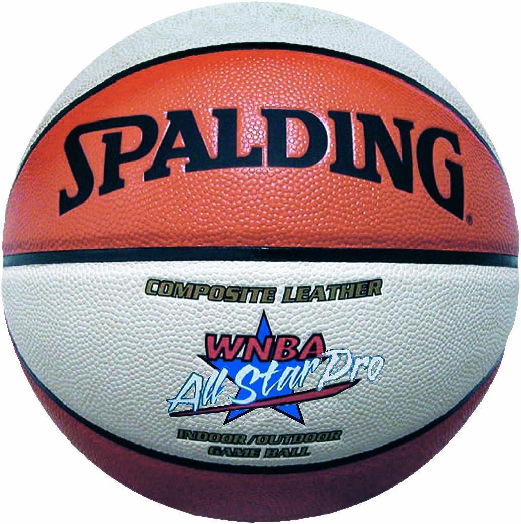 Spalding WNBA Allstar Pro - Balón de baloncesto ohne farbe Talla:6 ...