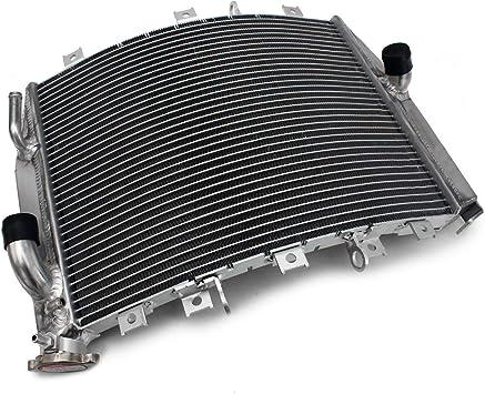 Tarazon Motorrad Aluminum Wasserkühler Motorkühlung Kühler Radiator Für Kawasaki Zx 10r Zx10r 2004 2005 Oem 39061 0041 Auto