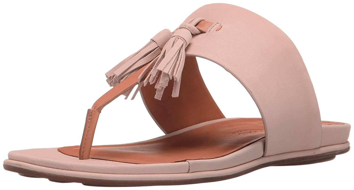 Gentle Souls by Kenneth Cole Women's Ottie Flat Sandal B01N0ACAJP 7.5 B(M) US|Blush