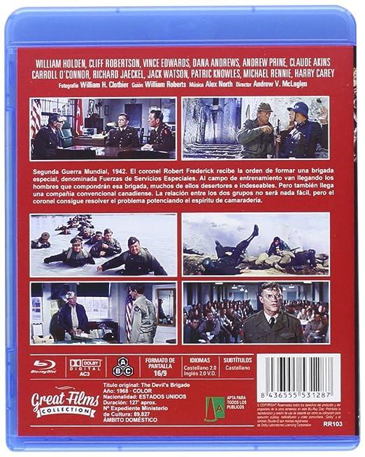 La Brigada Del Diablo (The Devil´s Bridge) [Blu-ray]: Amazon ...