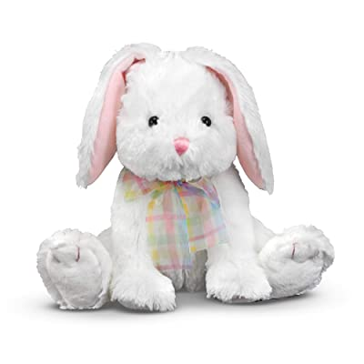 Melissa & Doug Blossom Bunny Rabbit Stuffed Animal: Melissa & Doug, , 7671: Toys & Games