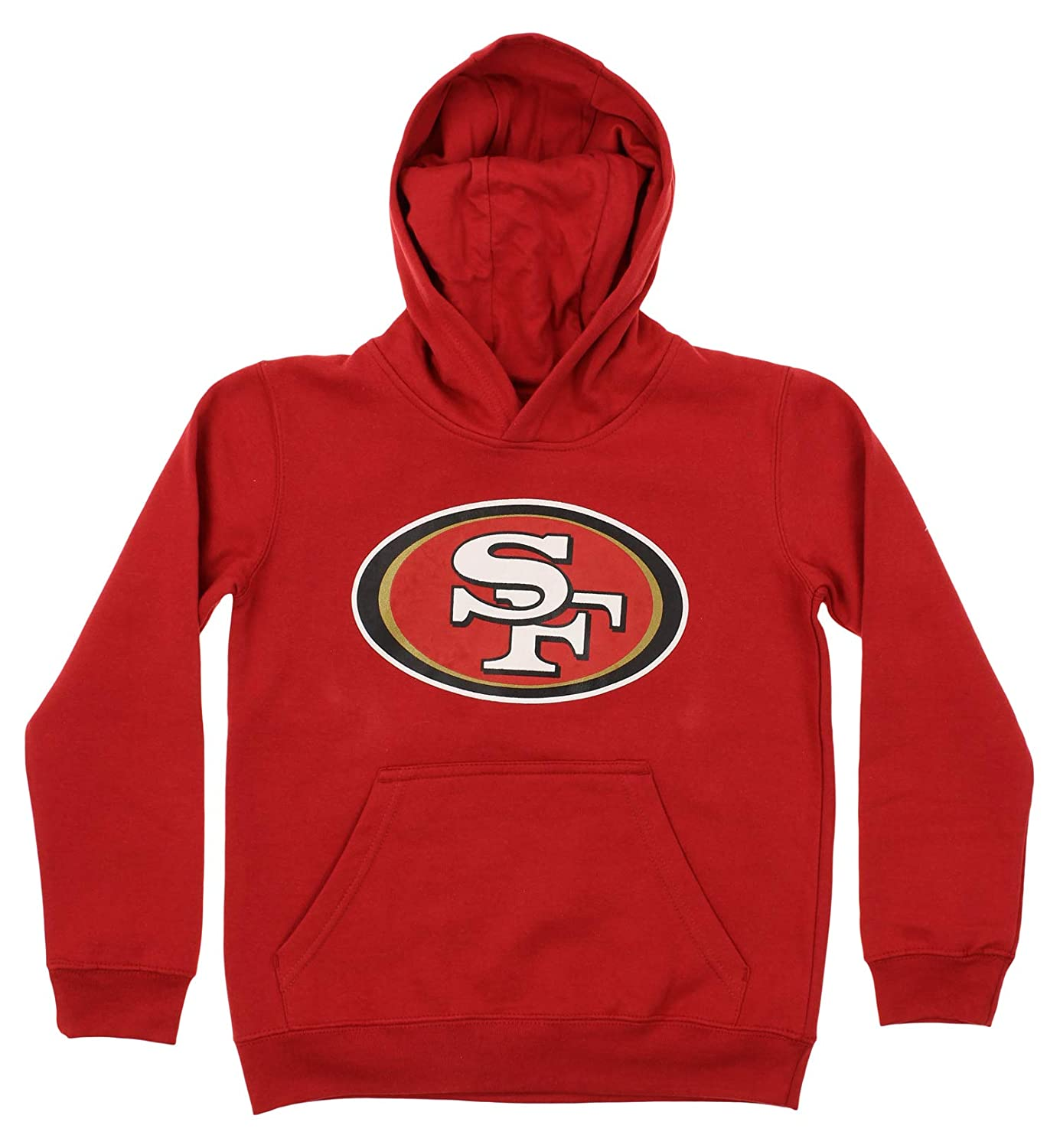 Outerstuff NFL Youth Boy's (8-20) Primary Logo Team Color Fleece Hoodie, Team Variation