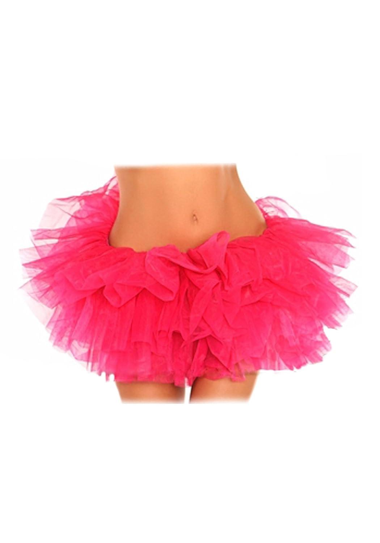DaisyCorsets Plus Size Pink Tutu Petticoat Daisy Corsets