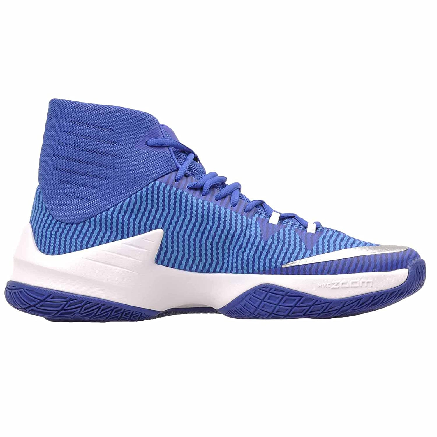Nike Men's Men's Men's Zoom Clear Out Basketball schuhe (Royal Weiß, 11) 1beee9