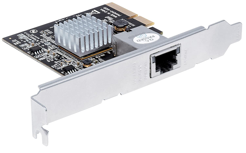 10GBase-T - 5GBase-T - 2,5GBase-T - 1-Port PCI Express 2.0 507950 grau Intellinet 10 Gigabit PCI-Express-Netzwerkkarte