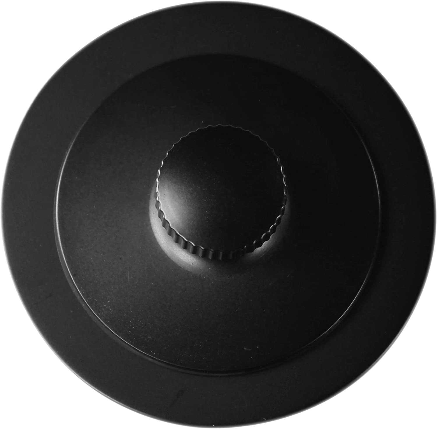 Westbrass Twist & Close Universal Tub Trim with 2-Hole Faceplate, Matte Black, D94K-62 - Drain Stoppers -