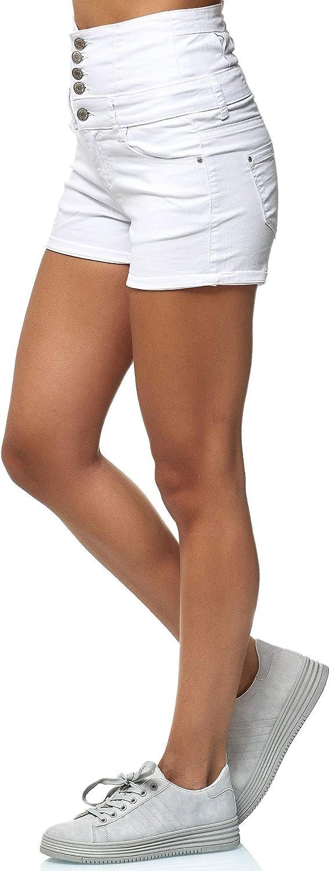 Elara Pantalones Cortos Mujer Cintura Alta Push Up Chunkyrayan