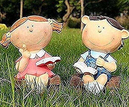 SHULING Adornos Jardín De Esculturas Al Aire Libre con Vistas Al ...
