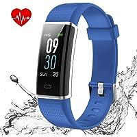 iSwim Orologio Fitness Tracker Uomo Donna Smartwatch Cardiofrequenzimetro da Polso Impermeabile IP68 Smart Watch Contapassi Calorie Sportivo Smartband per Android iOS