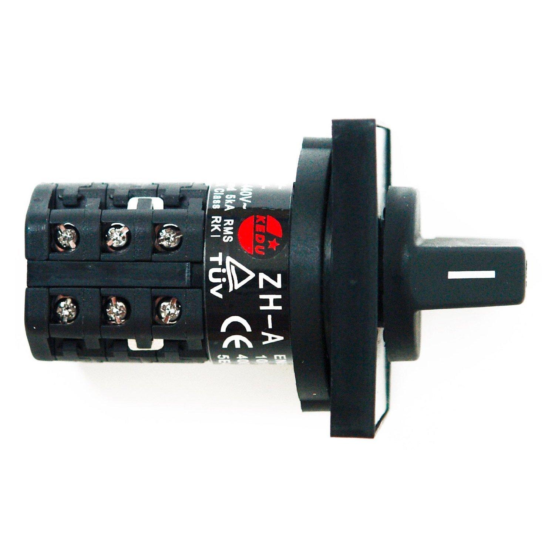 BUZE Wendeschalter 230V/400V Drehschalter ZH-A Handschalter ...