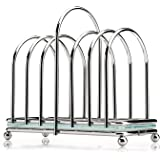 Toast Rack with Frosted Glass Base