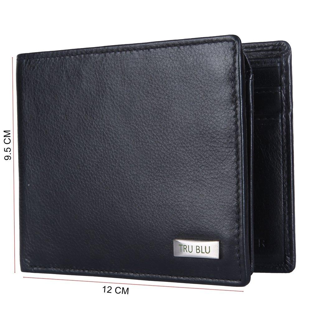 TRU BLU Mens Rfid Blocked Wallet