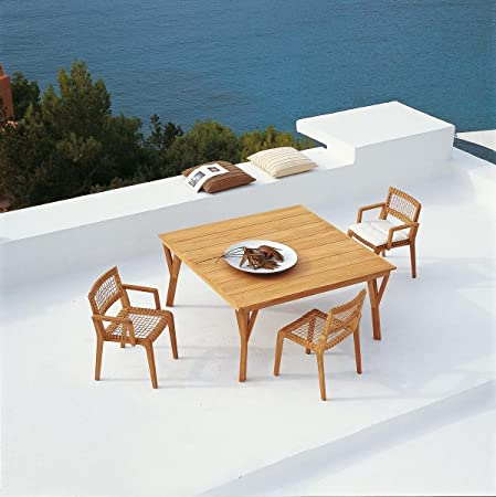 Dafnedesign. COM - Table de Jardin en Teck Table Synthesis ...
