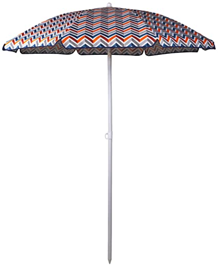 Picnic Time Outdoor Canopy Sunshade Umbrella 5 5 Vibe Collection