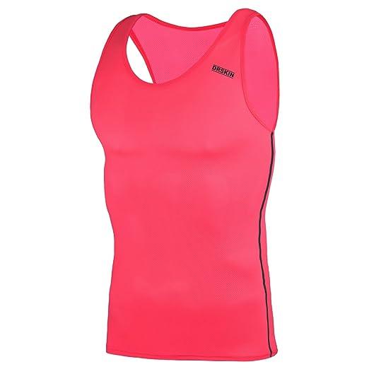 085573bc DRSKIN 1~3 Pack Undershirts Running Shirt Tank Tops Men's Cool Dry  Compression Baselayer Sleeveless