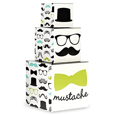 BirthdayExpress Mustache Man Party Supplies - Centerpiece: Toys & Games