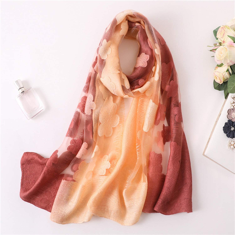 Lace Silk Scarf For Women//Long Soft Bandana Wrap Shawls Beach Shawl
