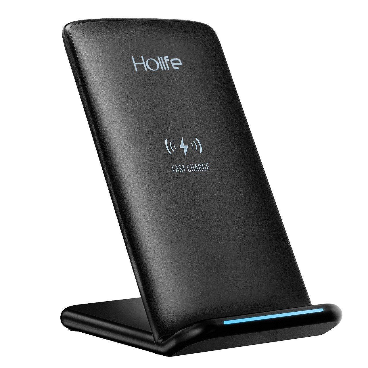 Holife Cargador Inalámbrico Rápido Qi Wireless Charger iPhone Samsung QC  iPhone